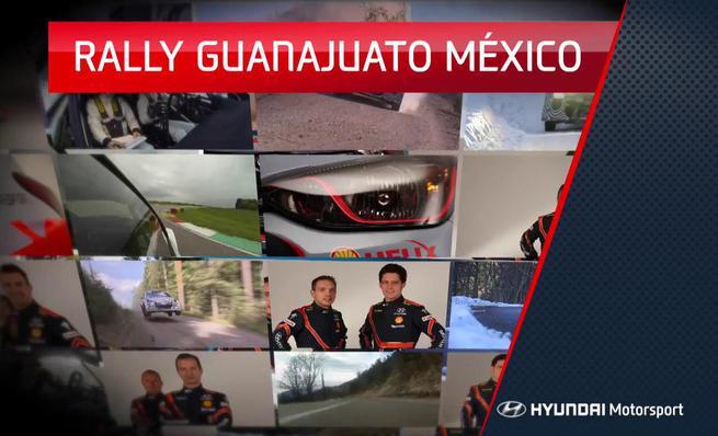 Previo Hyundai Motorsport del Rally de Mexico 2014