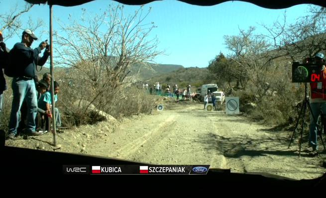 On board Robert Kubica - Shakedown Rally México 2014