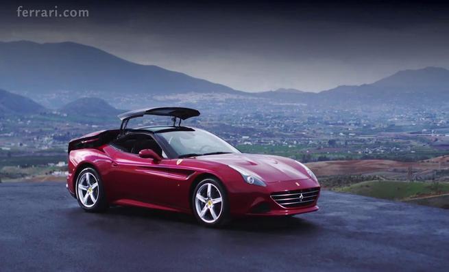 Ferrari California T, diseño exterior