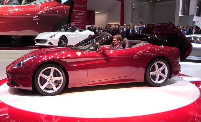 Ferrari California T, presentación en Ginebra