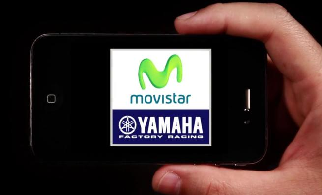 Movistar y Yamaha sellan su relación con un nuevo logo