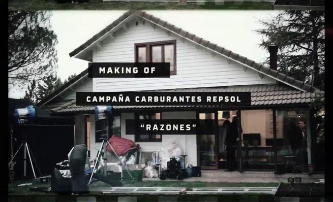 Making of spot de Repsol con Pedrosa y Márquez