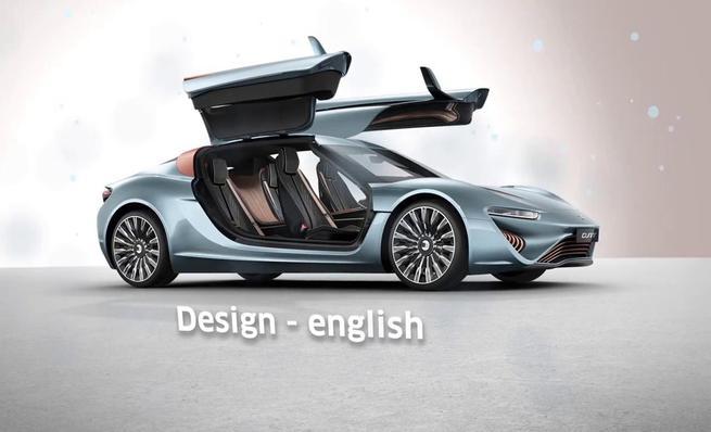 Quant e-Sportlimousine, diseño
