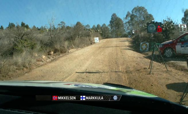On board Andreas Mikkelsen - SS03 Rally México 2014