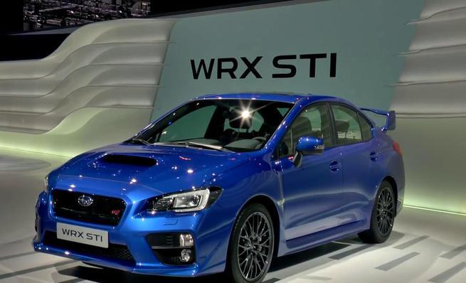 Subaru WRX Sti en Ginebra 2014