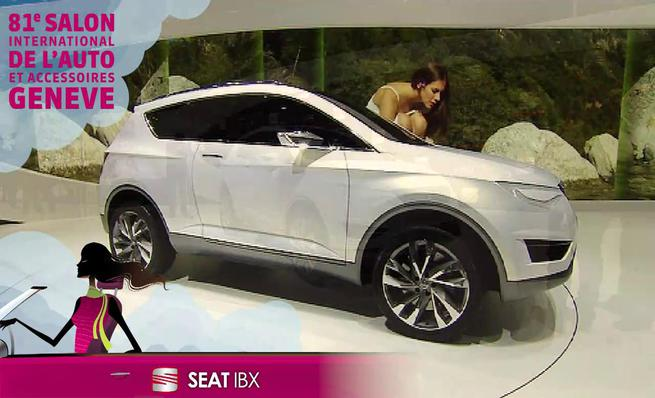 Seat IBX Concept en Ginebra 2011