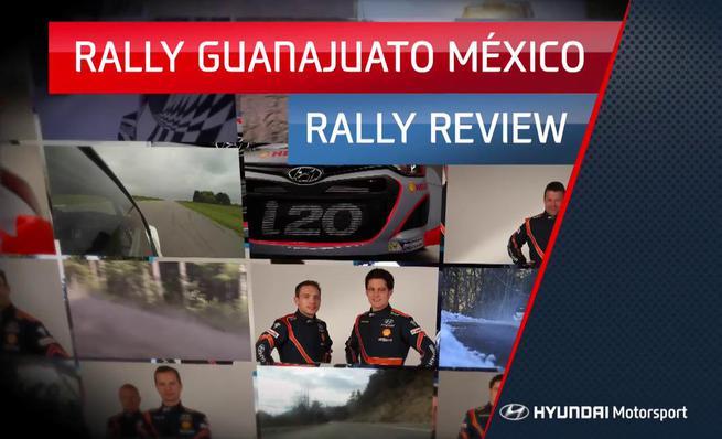 Resumen Rally de México del WRC 2014 por Hyundai Motorsport