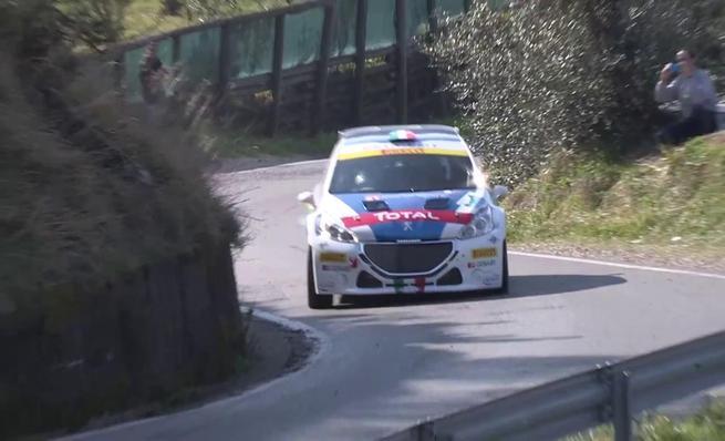 Primeros kilómetros en competición del Peugeot 208 R5