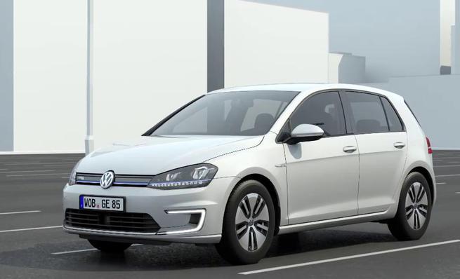 Animación técnica del nuevo Volkswagen e-Golf