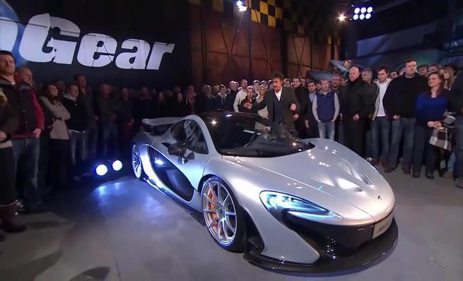McLaren P1 en Top Gear