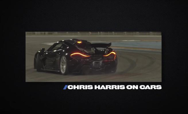 Chris Harris prueba el McLaren P1 para Road and Track