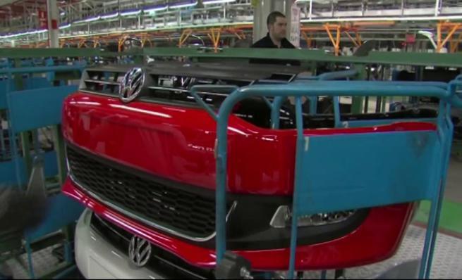 Proceso fabricación Volkswagen Polo