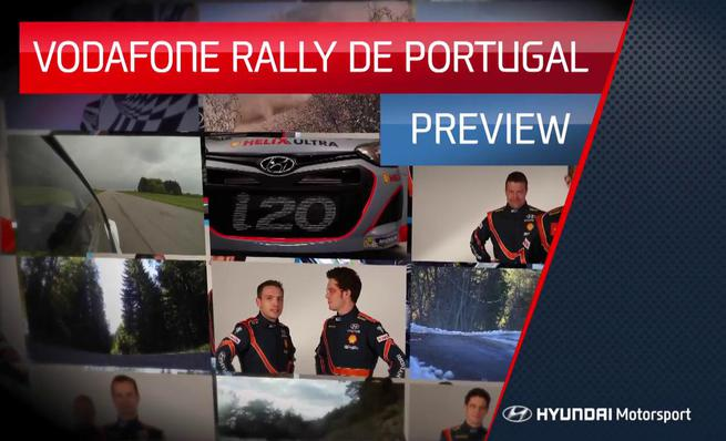 Previo de Hyundai para el Rally de Portugal 2014