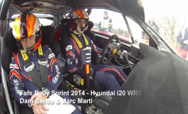 On board Dani Sordo - Fafe Rallysprint 2014