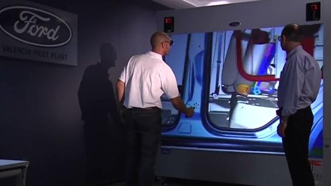 Ford introduce realidad virtual en su planta de Valencia
