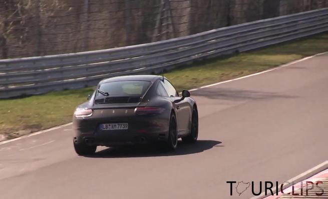 Test en Nürburgring del supuesto Porsche 911 4 cilindros