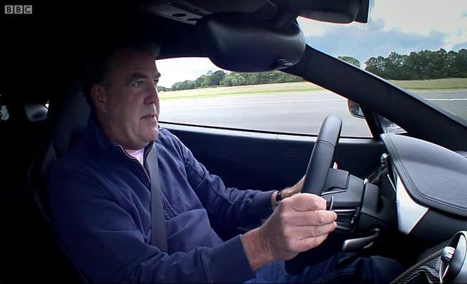 McLaren MP4-12C en Top Gear UK