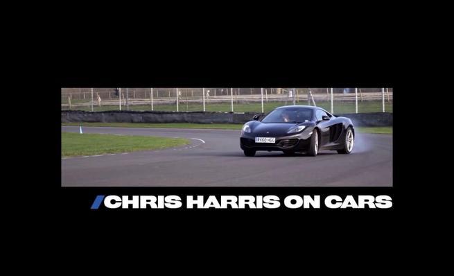 McLaren MP4-12C en las manos de Chris Harris