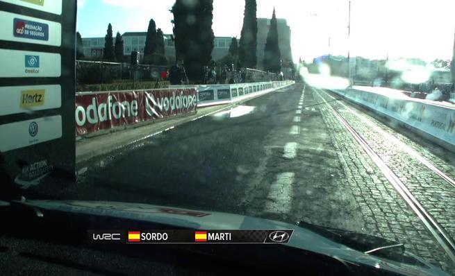 On board Dani Sordo - SS01 Rally Portugal 2014