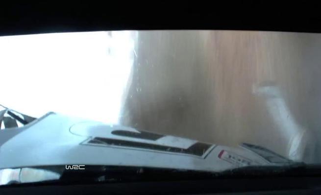 On board Jari-Matti Latvala - Accidente Rally Portugal 2014