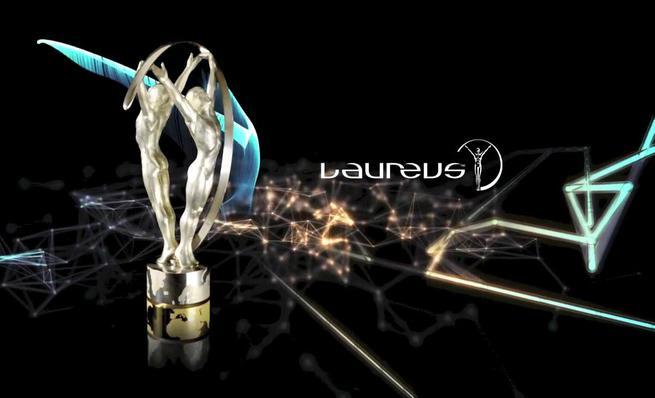 Entrega del Premio Laureus 2014 a Marc Márquez