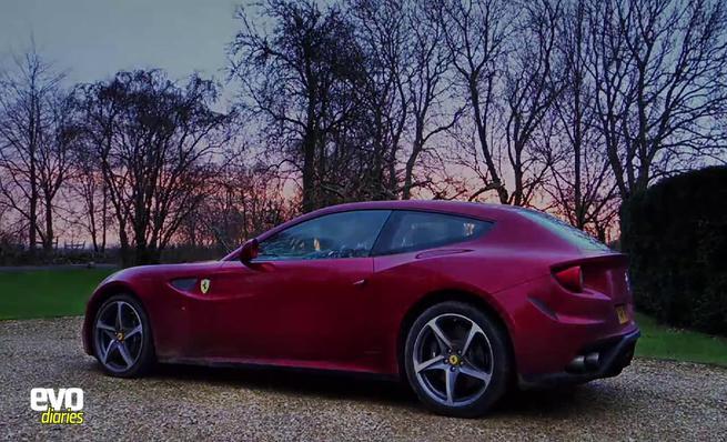 Prueba de 2.000 millas del Ferrari FF