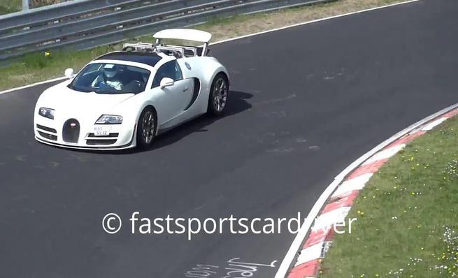 Mula de pruebas del Bugatti Veyron