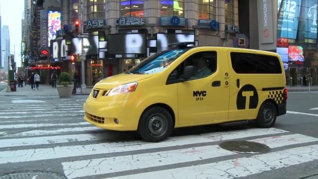 El taxi del mañana para Nueva York, por Nissan