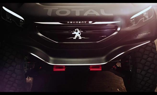 Presentación del Peugeot 2008 DKR