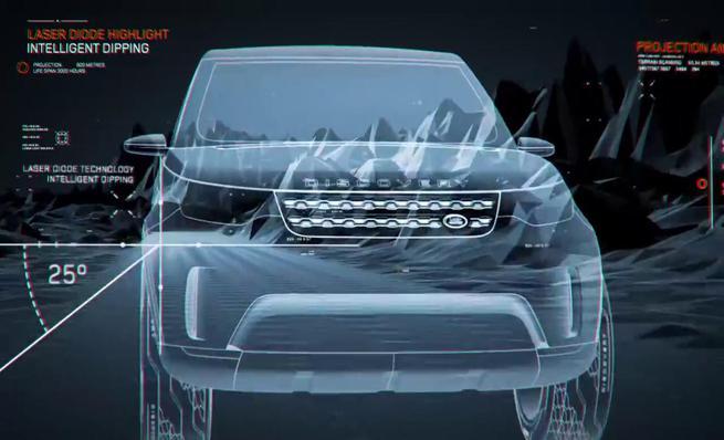 Tecnología del Land Rover Discovery Vision Concept