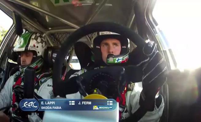 On board Esapekka Lappi - SS04 Rally Irlanda 2014