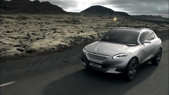 HR1, el \'concept car\' todoterreno de Peugeot