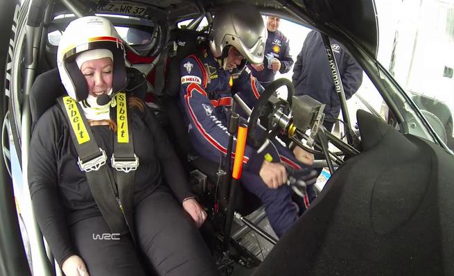 On board Thierry Neuville - Taxi Driver Rally Portugal 2014