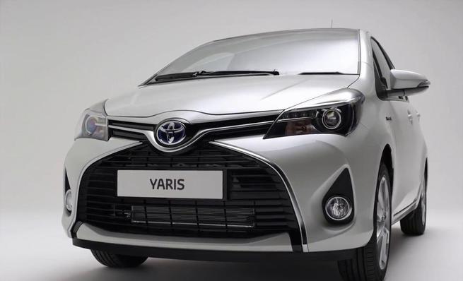Teaser del nuevo Toyota Yaris