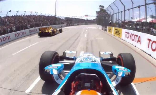 La carrera de IndyCar en Long Beach desde dentro