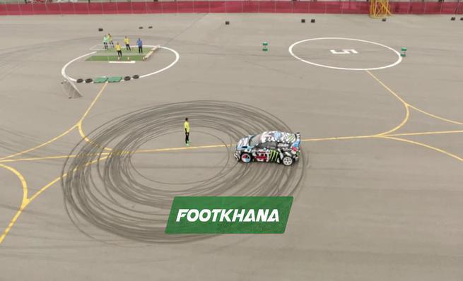 Destino Brasil: Footkhana de Block y Neymar