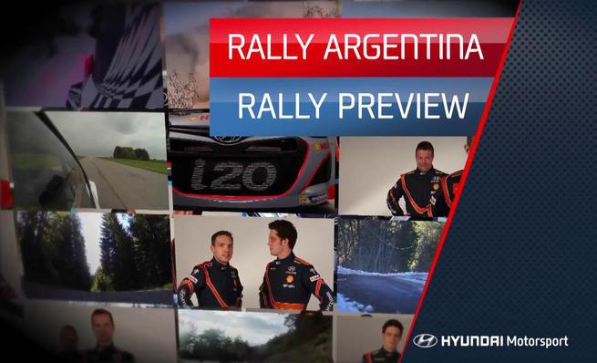 Previo Hyundai Motorsport del Rally de Argentina 2014