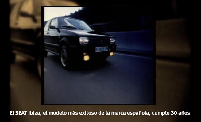 30 aniversario del Seat Ibiza