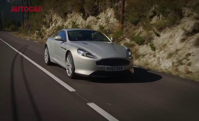 Vídeo prueba del Aston Martin DB9