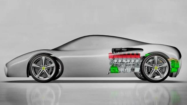 Ferrari HY-KERS 2012