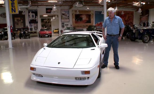 Jay Leno's Garage prueba el Lamborghini Diablo