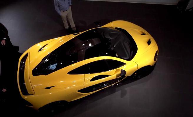 Jay Leno y su McLaren P1