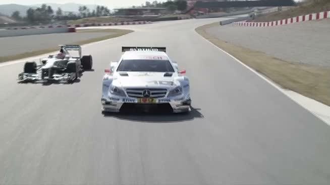 Los hermanos Schumacher, juntos para el arranque del DTM