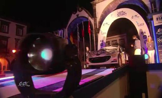 El espectáculo del ERC llega al SATA Rally Azores
