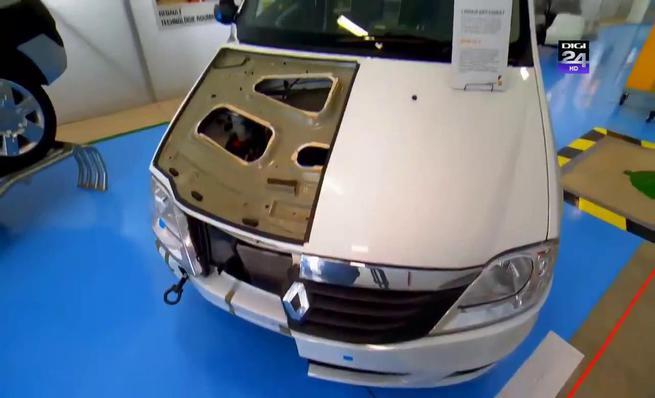 Proceso de fabricación de Dacia