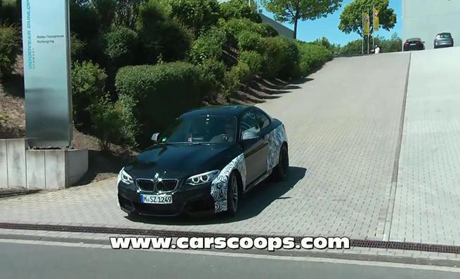 BMW M2 cazado en pruebas