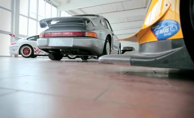 Prototipo secreto Porsche: Estudio aerodinámico