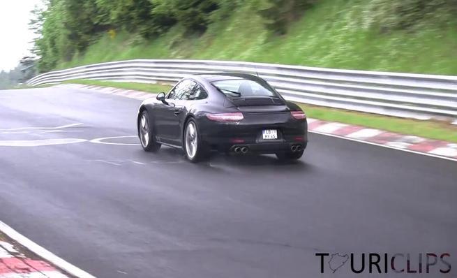 Supuesto Porsche 911 mula de pruebas hibrida