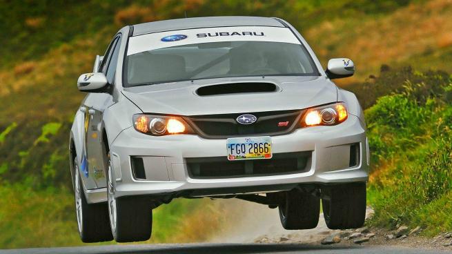 El Subaru STI bate el record de Isla de Man en 2011