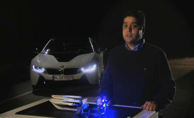 Explicación del funcionamiento y desarrollo de las luces láser de BMW